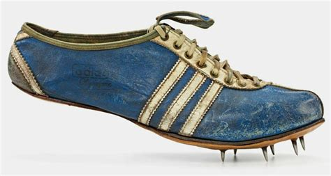 designboom shoes a history of adidas adi dassler s first track and field