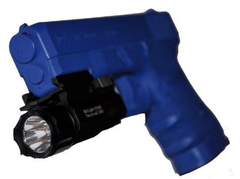 brightest single cr123 flashlight aimkon hilight p10s 400 lumen pistol led strobe flashlight