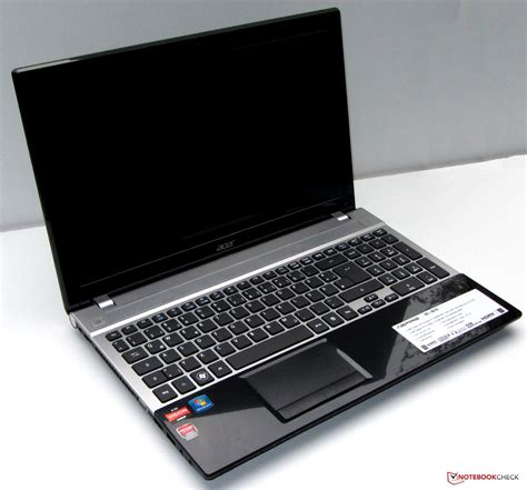 Laptop Acer Aspire V3 551 review acer aspire v3 551g 10468g50makk notebook notebookcheck net reviews