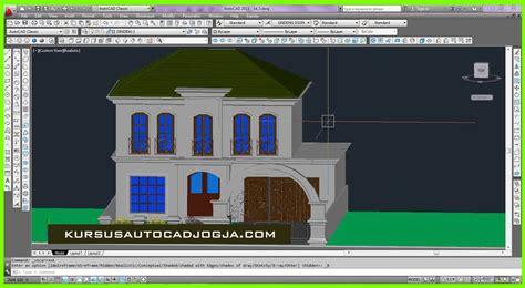 tutorial autocad untuk desain interior tutorial desain rumah dengan autocad 2007 rumah zee
