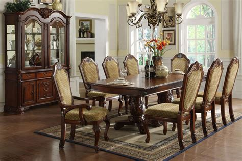 Furniture Dining Room Sets Formal Dining Room Sets For 10 Marceladick