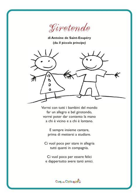 lontano da tutto testo girotondo poesia di antoine de exup 233 ry per bambini