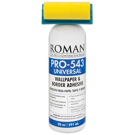 wallpaper edge paste shop roman gh 57 20 oz wallpaper adhesive at lowes com