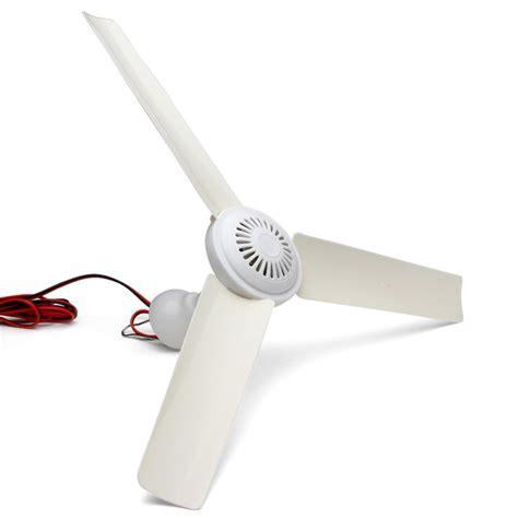 Dc 12v 5w Plastic 3 Blade Brushless Converter Motor Mini Ceiling Fan