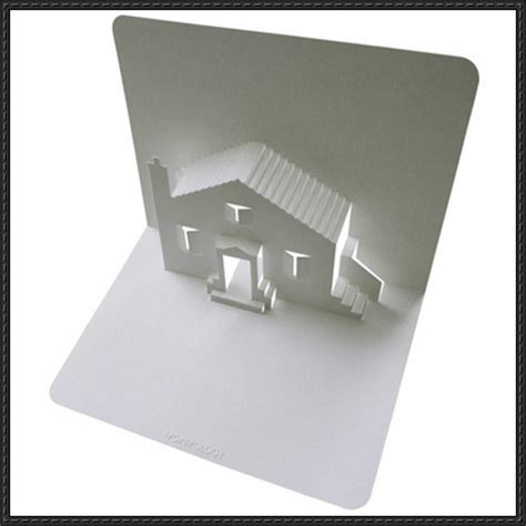Pop Up Papercraft - papercraftsquare new paper craft simple house pop