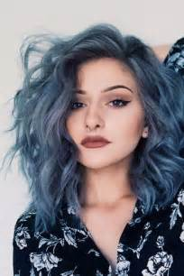 color of hair the denim effect denim blue hair colors you ll