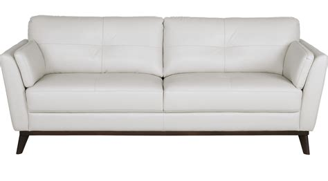 white leather settee 899 99 gabriele white leather sofa classic