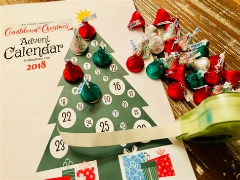 printable instructions for hallmark countdown to christmas clock 2016 diy hallmark channel countdown to advent calendar free printable finding debra