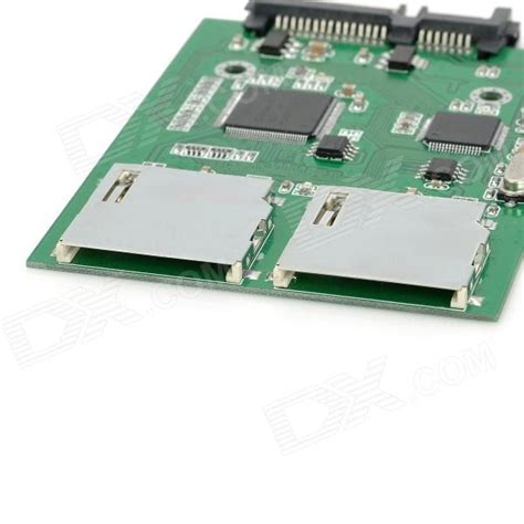 Sata To Sd Card Adapter Card green sata to 2 sd card converter adapter at cheap price