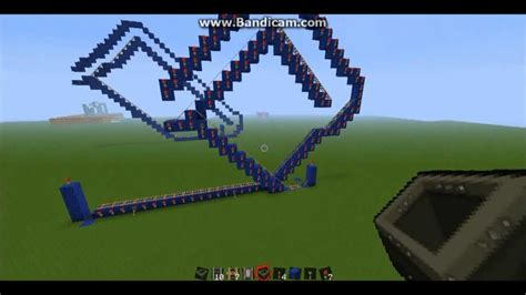 How To Make A Roller Coaster Loop Out Of Paper - minecraft loop rollercoaster