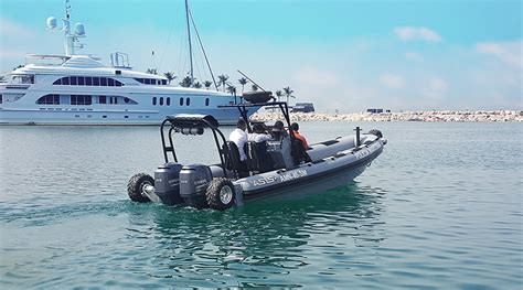 inflatable boat with wheels boat with wheels rib boats hibious 8 4m