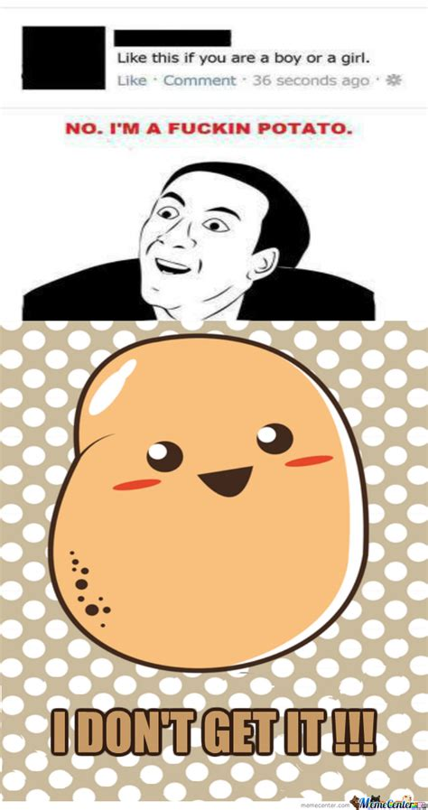 Meme Kawaii - even potatoes can be cute by asdfstar1 meme center