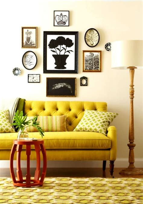 yellow living room decor mixing in some mustard yellow ideas inspiration