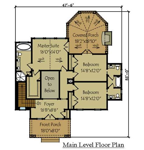 lake house floor plans 2 story rustic lake house plan by max fulbright designs