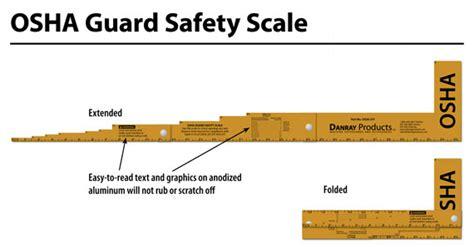 Osha Bench Grinder Danray Products Llc Osha Guard Safety Scale