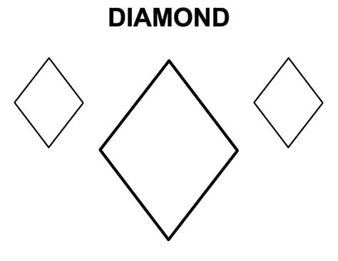diamond coloring pages for preschoolers coloring pages