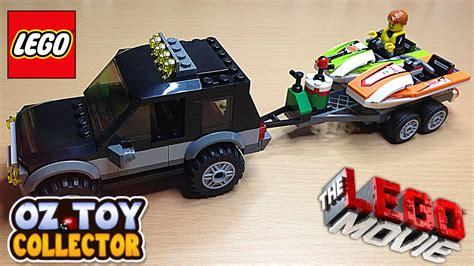 toy lego boat the lego movie lego toys lego car lego boat jet boat youtube
