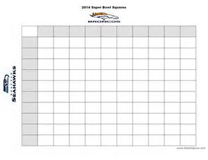 Betting Pool Template by Printable Bowl Squares New Calendar Template Site
