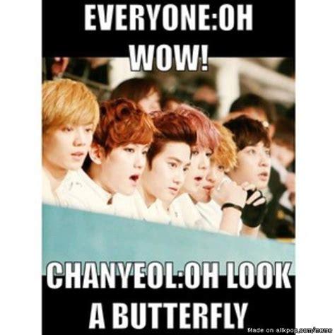 Exo Funny Memes - troll chanyeol exo allkpop meme center awesomeness
