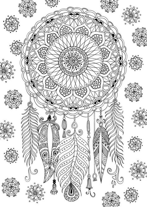 dreamcatcher book dreamcatcher coloring page by felicity french