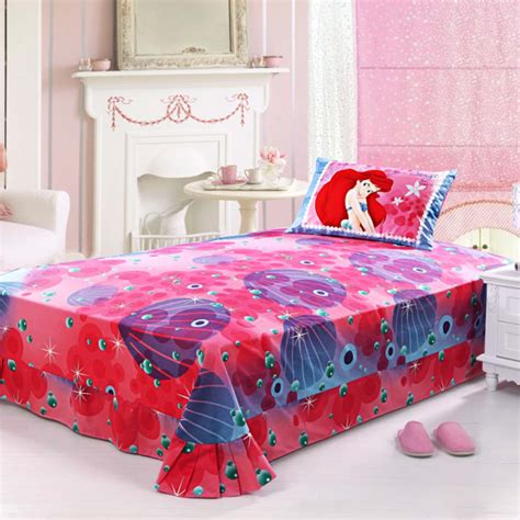 twin size bed comforter ariel princess bedding set twin size ebeddingsets