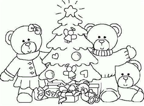 imagen linda familia en navidad x luzdary arbol de navidad para colorear
