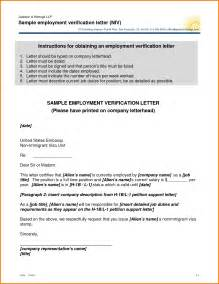 Employment Letter Ms Word Employment Verification Letter Template Microsoft Word