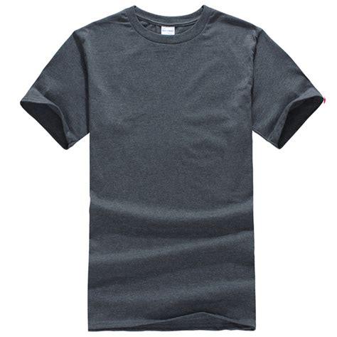 Basic Casual Greenlight plain t shirt cotton basic blank mens womens casual