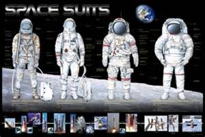 space suits of our astronauts chart