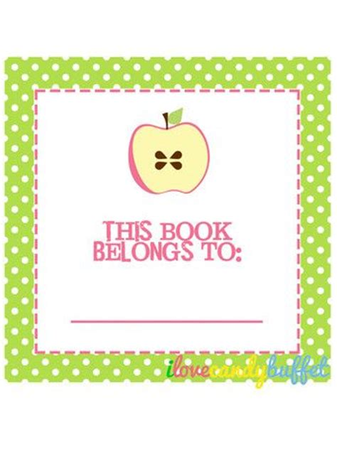 label templates for school books 17 best images about school back to school on pinterest