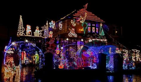 these houses in ireland have taken christmas lights to the