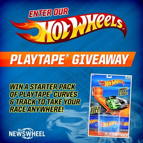 Win Our Giveaway by Enter Our Giveaway To Win A Wheels Playtape Pack