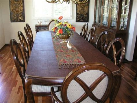 Custom Table Pads For Dining Room Tables Decorating Ideas Custom Dining Room Table Pads