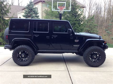 jeep back black jeep wrangler 4 door car goals