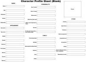 character biography template character sheet template www imgkid the image kid
