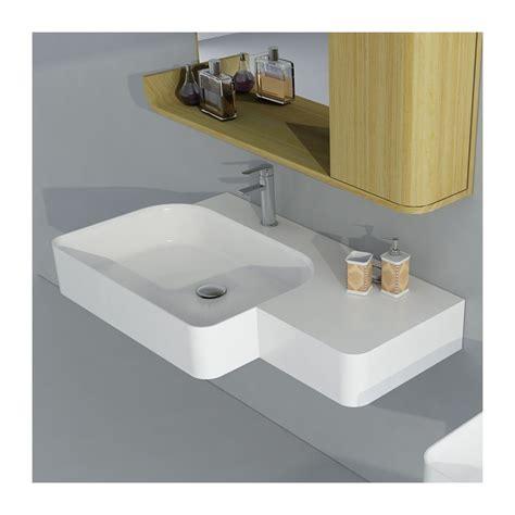Ilot Pour Cuisine 4307 by Plan Vasque Suspendu Plan Vasque En Solid Surface Plan