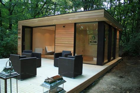 backyard studio plans in it studios prefab garden house is a modern small space