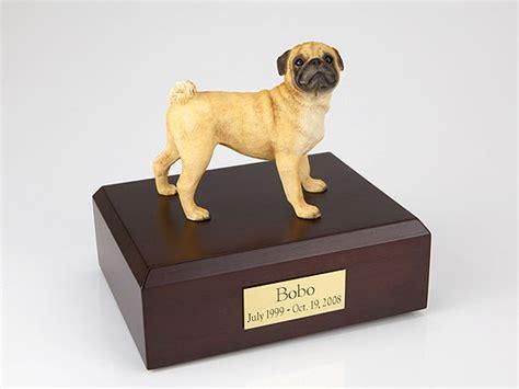 pug urn pug figurine urn memorial urns