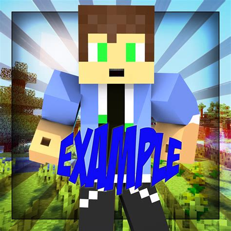 minecraft profile picture template cheap minecraft shop thumbnails profile pics shops