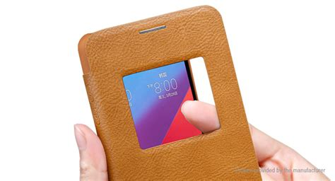 Nillkin Qin View Lg G6 7 19 nillkin qin series flip open protective cover for lg g6 authentic s view window