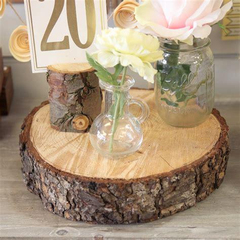 Wedding Log by Rustic Wood Log Tree Slice Beyond Expectations Weddings