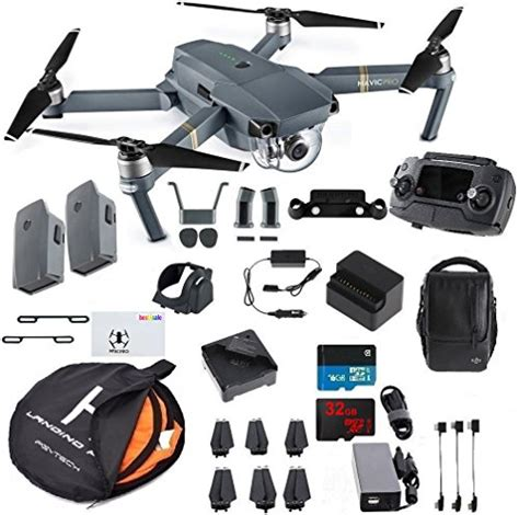 Bundle Fly More Combo Dji Mavic Pro dji mavic pro fly more combo collapsible quadcopter drone essentials bundle with 2