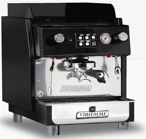 Coffee Machine Vibiemme vbm vibiemme 1 en 2 groeps horeca espresso machines voor