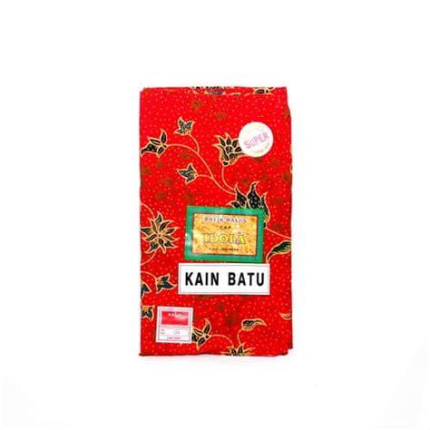 Jarik Batik Warna kain jarik warna merah cap idola koleksi antik koleksi