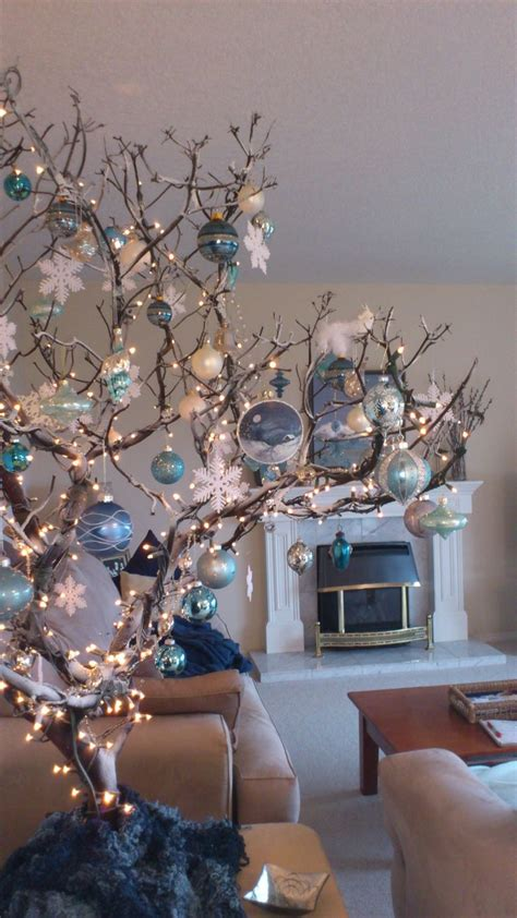 17 best ideas about christmas branches on pinterest