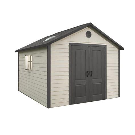 Lifetime Storage Sheds Reviews shop lifetime products gable storage shed common 11 ft x 11 ft actual interior dimensions 10
