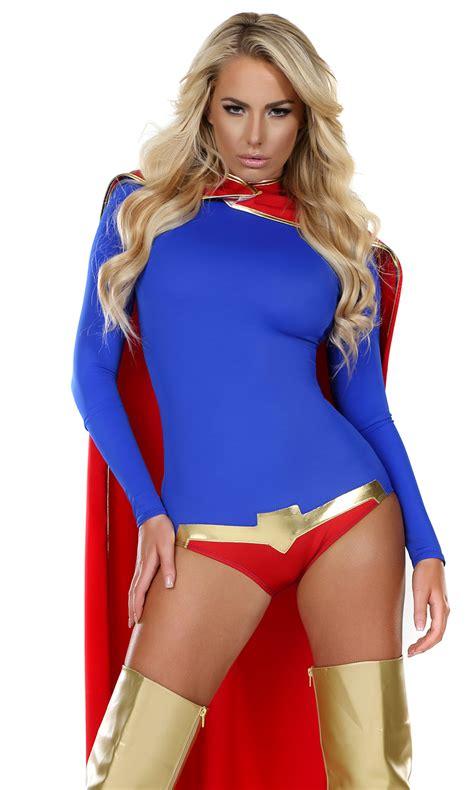 sultry savior sexy hero costume