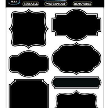 online shop large size 10x6 cm kitchen chalkboard label sticker chalkboard stickers labels custom sticker