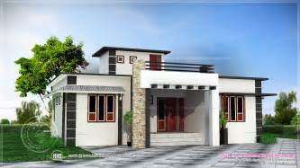 House Designs by 1060 Square Feet One Storied House Kerala Home Design