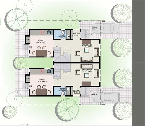 twin home plans small bungalow house plans twin bungalow floor plan